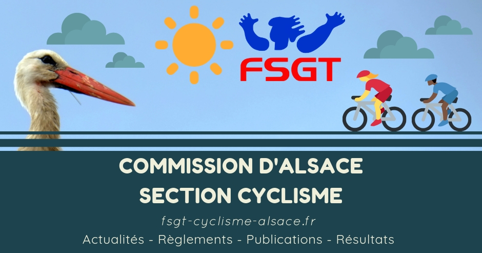 Calendrier Fsgt Cyclisme 2019.Fsgt Section Cyclisme Alsace